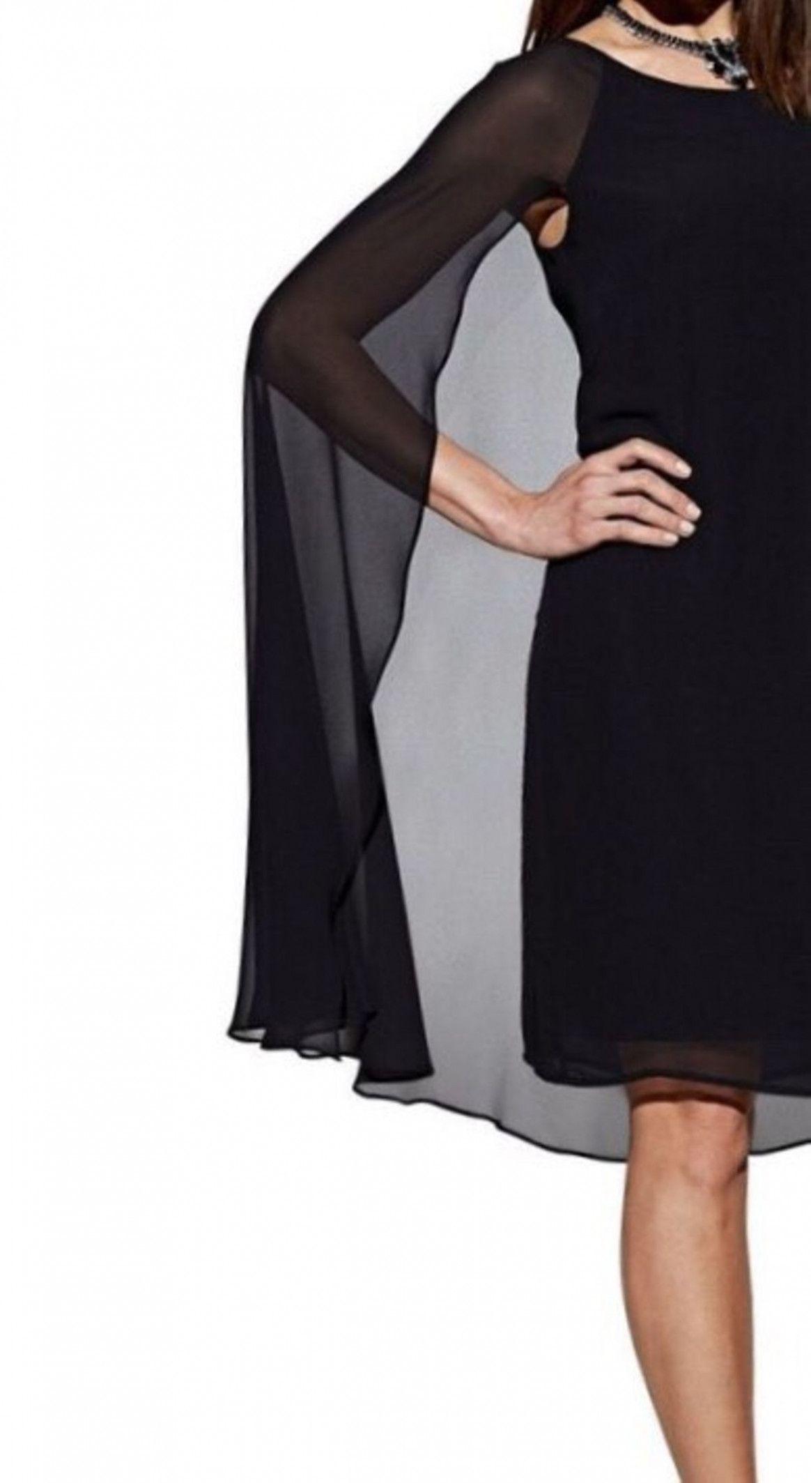 17 Abendkleid Schwarz Kurz in 17  Abendkleid schwarz