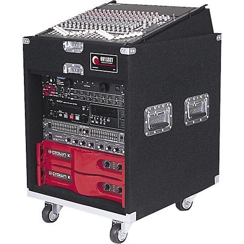 Odyssey Cxp1110w Carpeted Pro Combo Case W Wheels Dj Equipment Audio Amplifier Speaker Plans