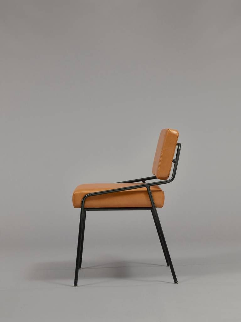 Chair 159 By Alain Richard Meubles Tv Edition 1953 At 1stdibs Chair Design 50s Chairs Metal Chairs