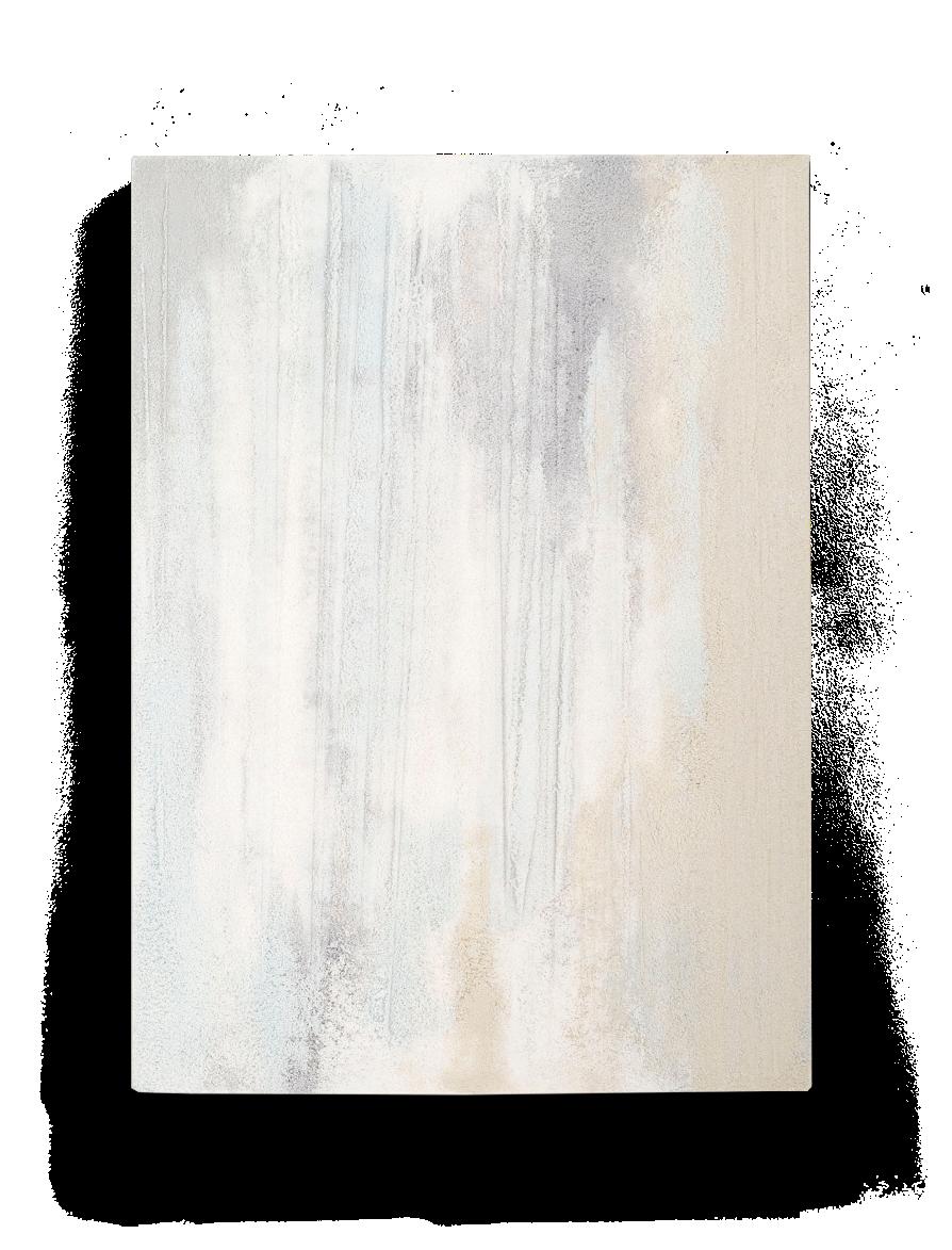 Untitled. Original artwork created by Fernando Mastrangelo in 2015. Sand and salt.