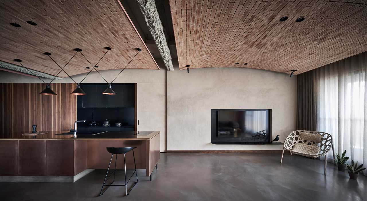 A Taiwanese Apartment That Merges Modern And Natural Elements By