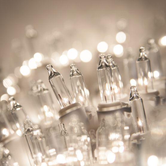 Incandescent Mini Lights White Christmas Lights Christmas