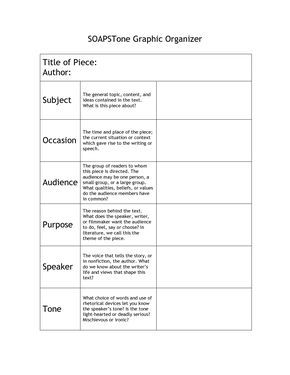 Image Detail For Soapstone Graphic Organizer Graphic Organizers