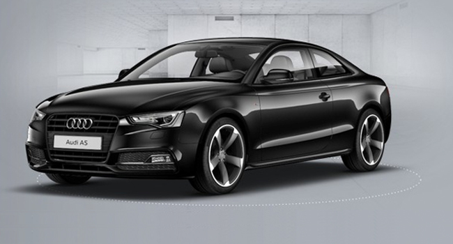 AudiA Black Edition Coupe Car Lease Finance And Loan From MSG - Audi car finance