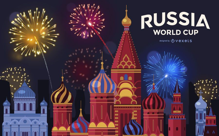 Moscow World Cup Fireworks Background Ad Aff Ad World Background Fireworks Moscow Fireworks Background Fireworks Russia World Cup