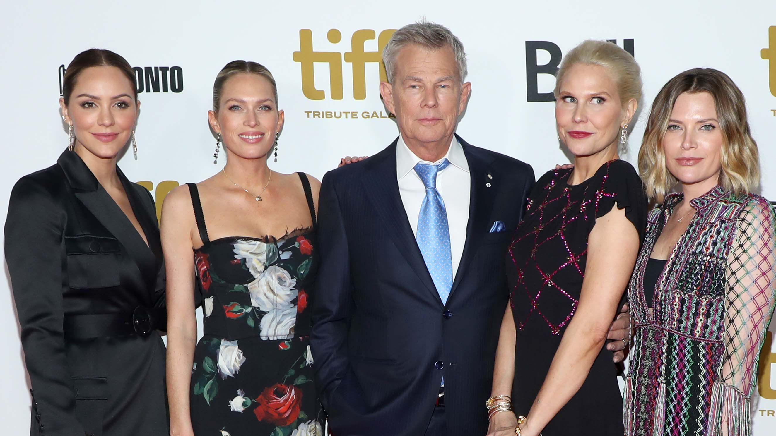Fox News David Foster S Daughters Reveal Their Only Issue With His Wife Katharine Mcphee In 2020 David Foster Daughters David Foster Wife Gwen Stefani And Blake