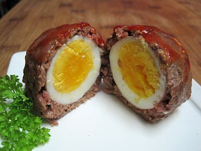 Dukan Meat ball with a surprise inside