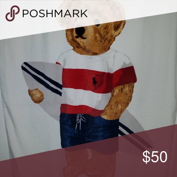 Ralph Lauren Polo Bear Towel Nwt Polo Ralph Lauren Ralph Lauren