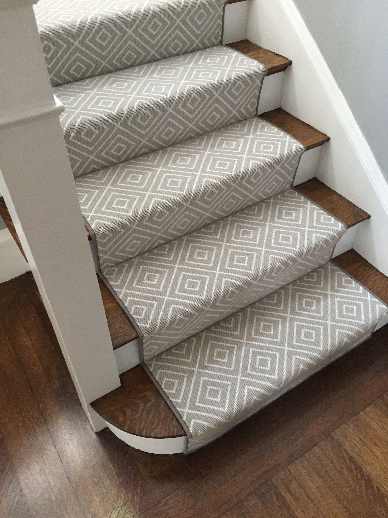 Custom Rug Fabrication Carpet Workroom Stair Runner Carpet | Custom Carpet Runners For Stairs | Wood | Stair Treads | Landing | Carpet Workroom | Flooring