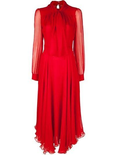 Gucci Silk Chiffon Dress - Al Duca D'aosta - farfetch.com - StyleSays