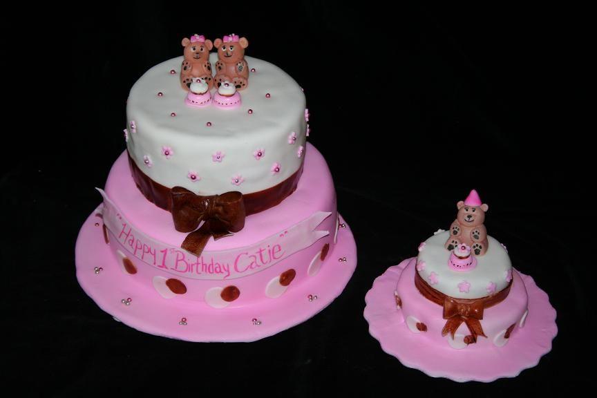 Girls1stbirthdaysmashcakejpg 864576 pixels Cakes Pinterest
