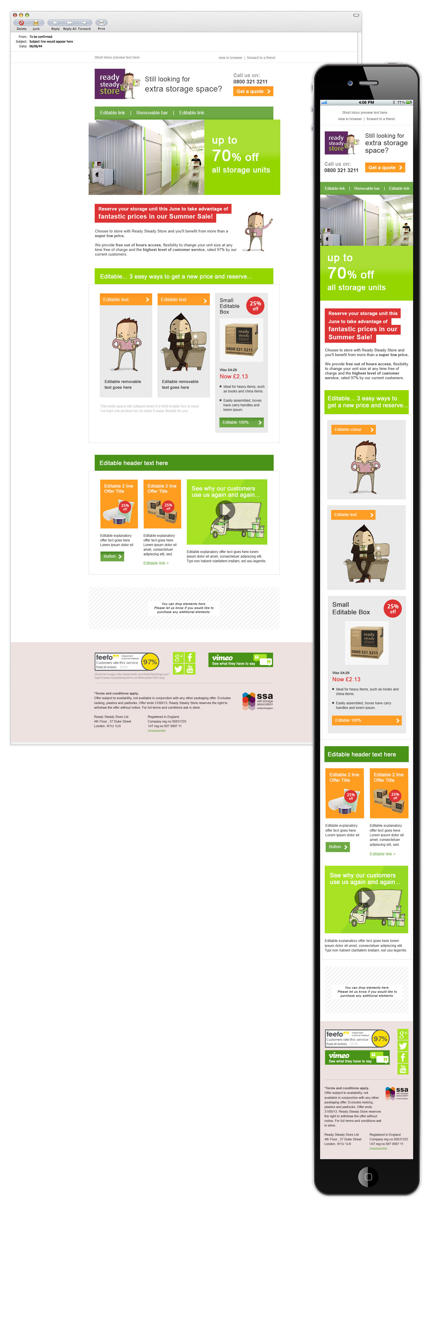 responsive dotmailer example | Email | Pinterest | Responsive email