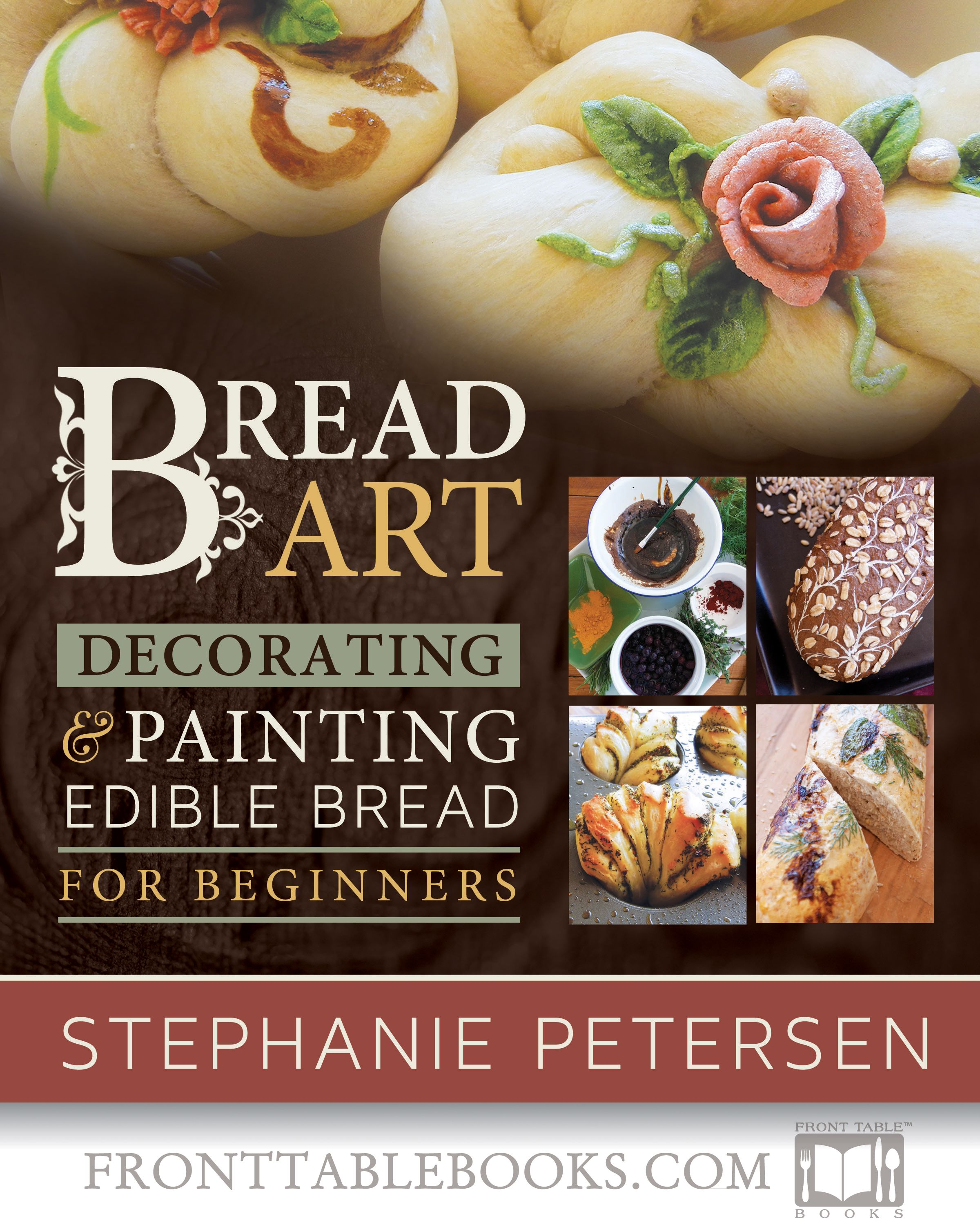 Bread Art: Braiding, Decorating, and Painting Edible Bread for Beginners (Buy: http://4rt.cc/breadart_140611) Art that you can eat! With Bread Art's beautiful, step-by-step photos and delectable recipes, you'll be braiding, painting, and embellishing your own masterpieces in no time!