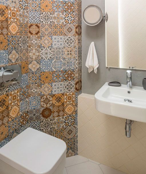 Baldosas hidr ulicas ba o aseo hydraulic tiles bathroom - Baldosas de bano ...