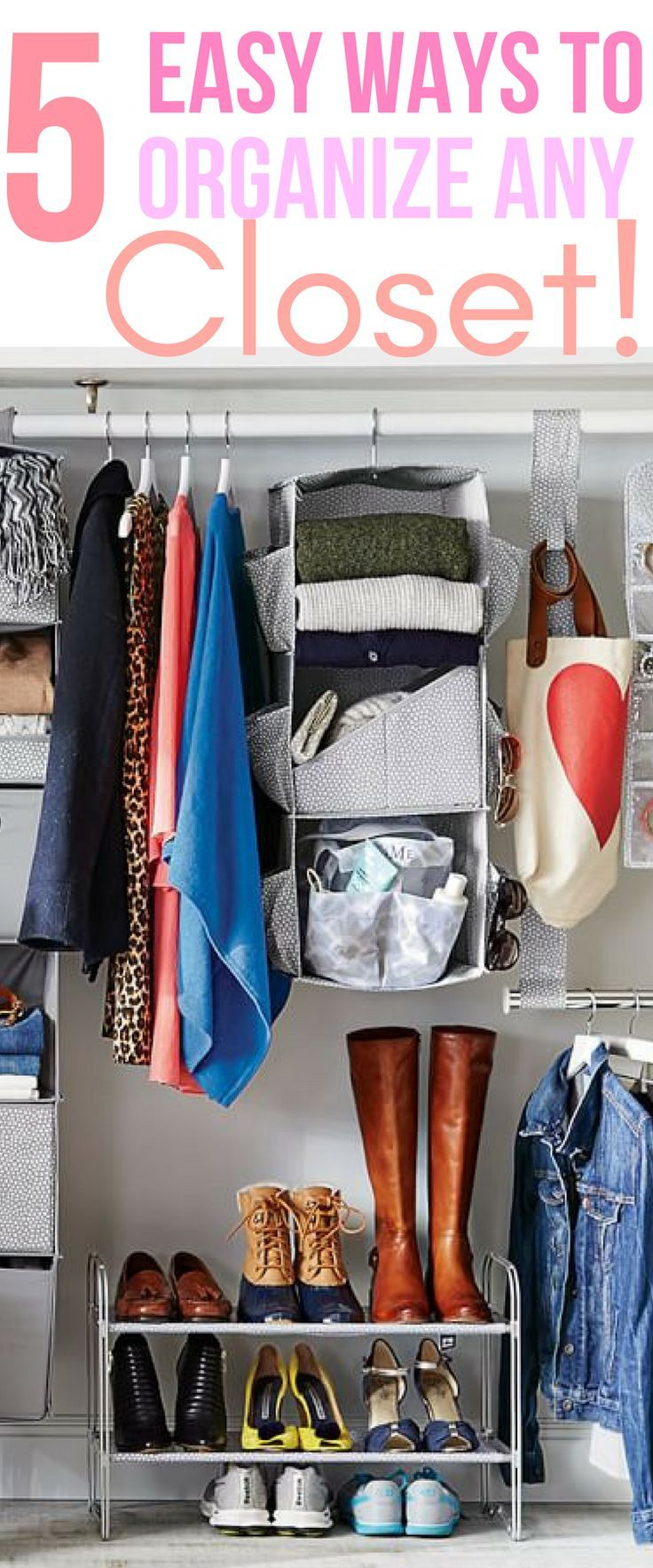 5 Secret Ways To Organize Your Closet
