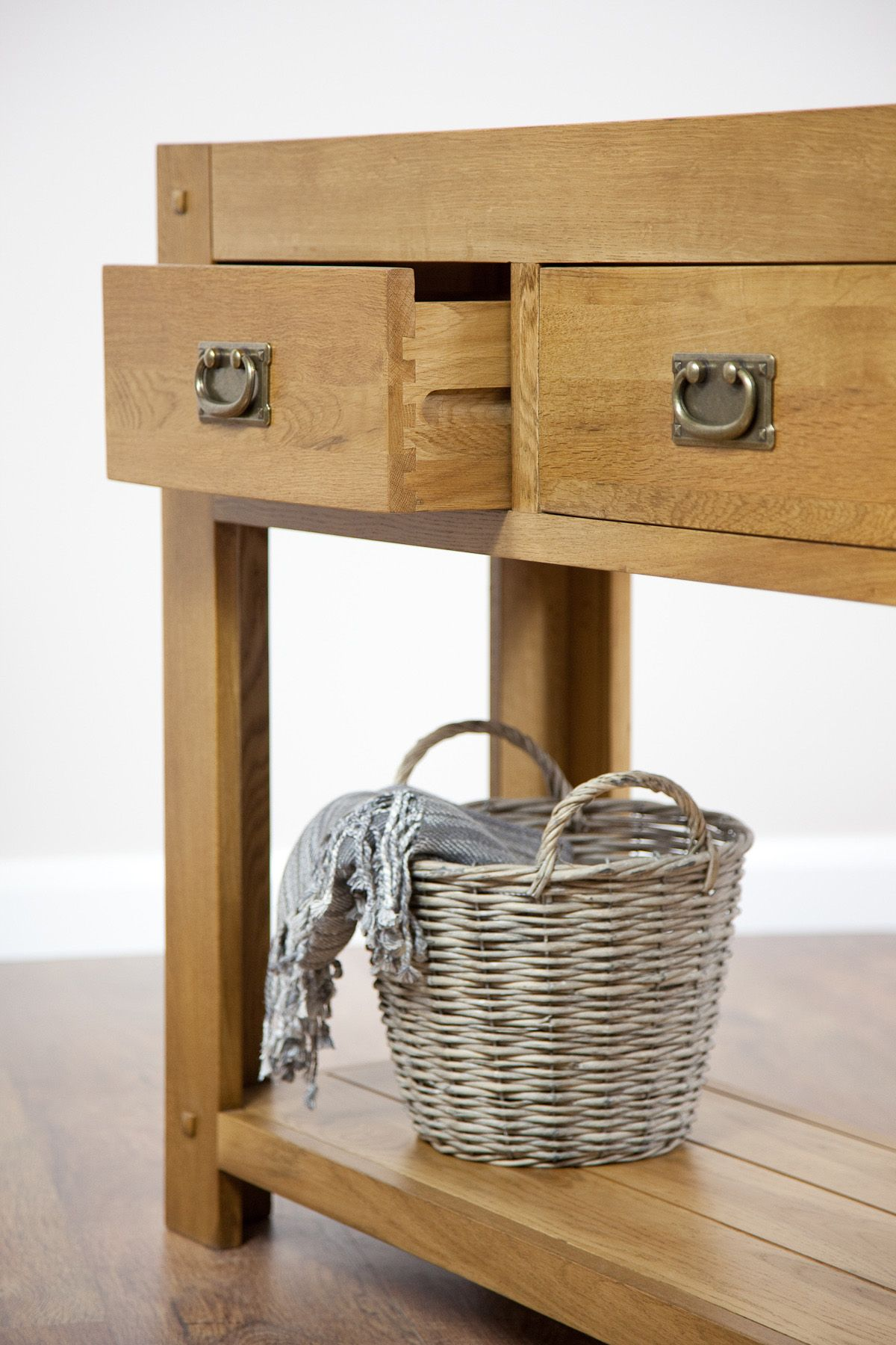 oak hall console table. Quercus Solid Oak Furniture Range Hallway | Hall / Console Table Land Www