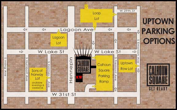 Location & Directions/ Parking Map Kitchen Window 3001 Hennepin ...