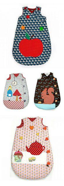tour de lit bébé georges et rosalie Georges et Rosalie sleeping bags by Ninainvorm, via Flickr | Fun  tour de lit bébé georges et rosalie