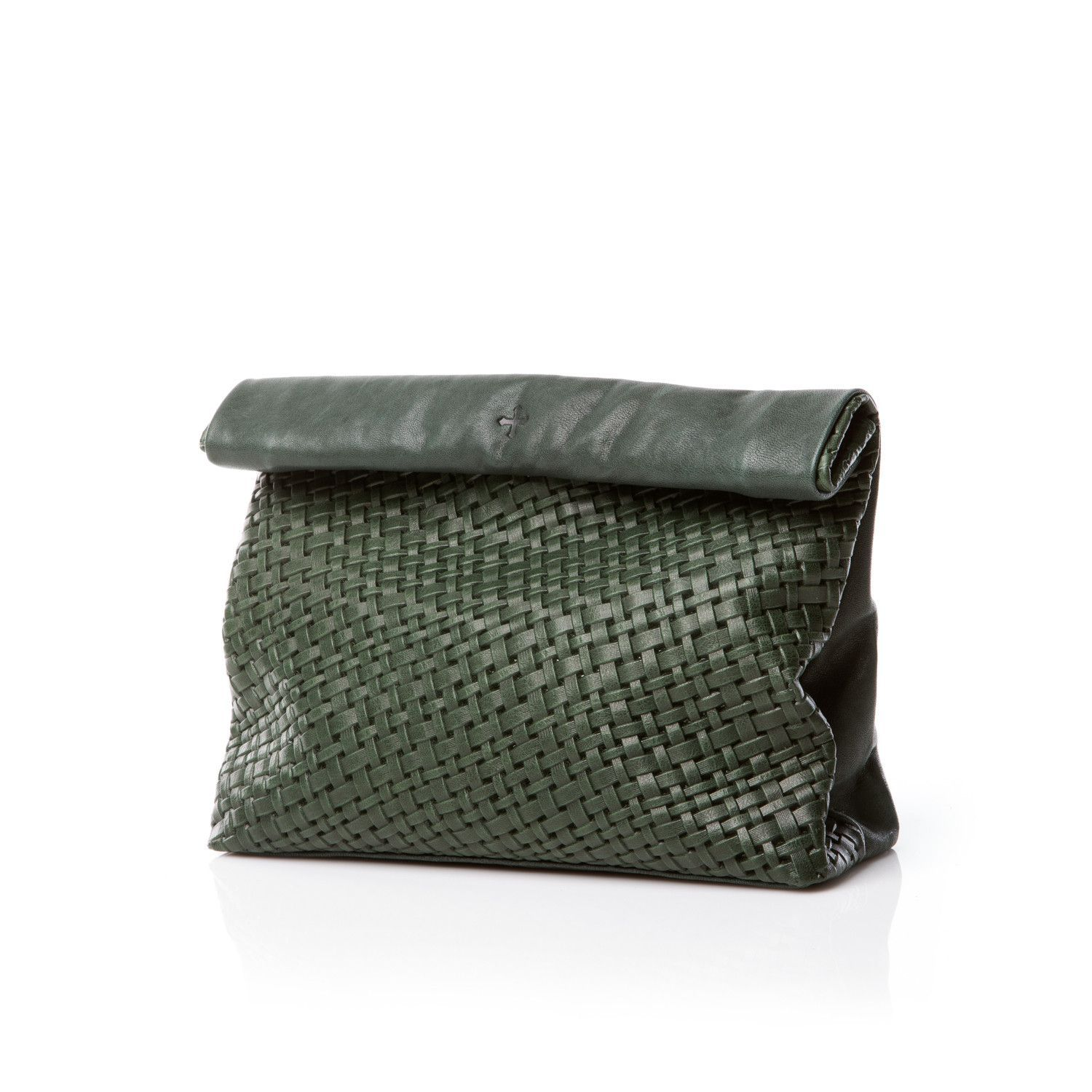 Marie Turnor Lunch Green Basket Weave