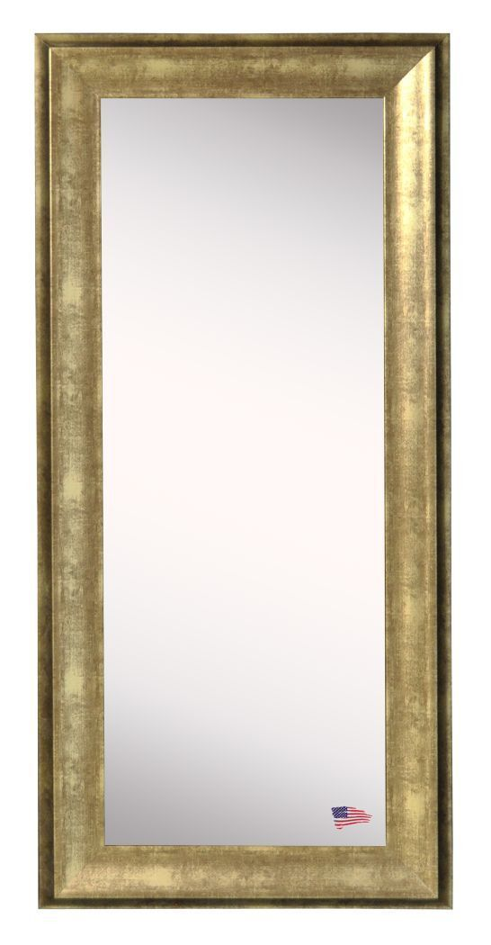 American Made Rayne Lustrous Champagne Body Mirror 26.5x64.5 - V066TMorR066TM ~Suggested Retail~
