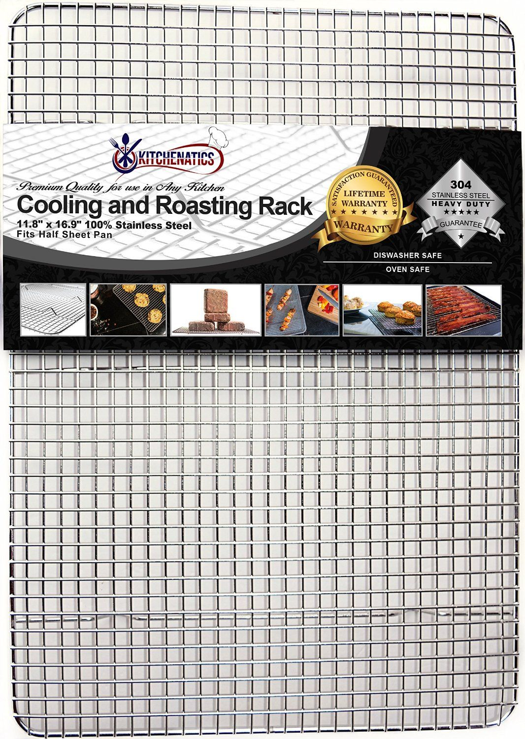 Kitchenatics Professional Grade Stainless Steel Cooling and Roasting ...
