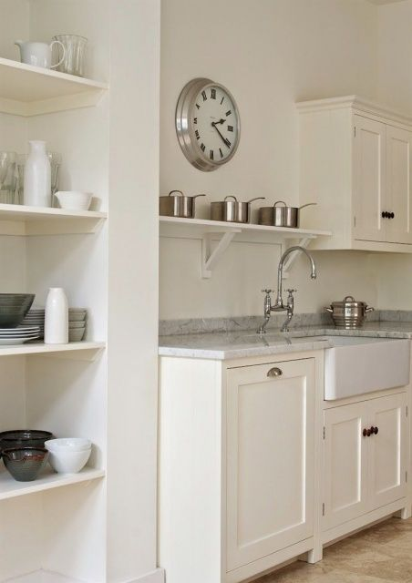 Best Farrow And Ball Strong White Kitchen Cabinets Farrow And 400 x 300