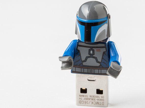 Lego usb flash drive memory stick Star Wars by LegoFlashDrive ...