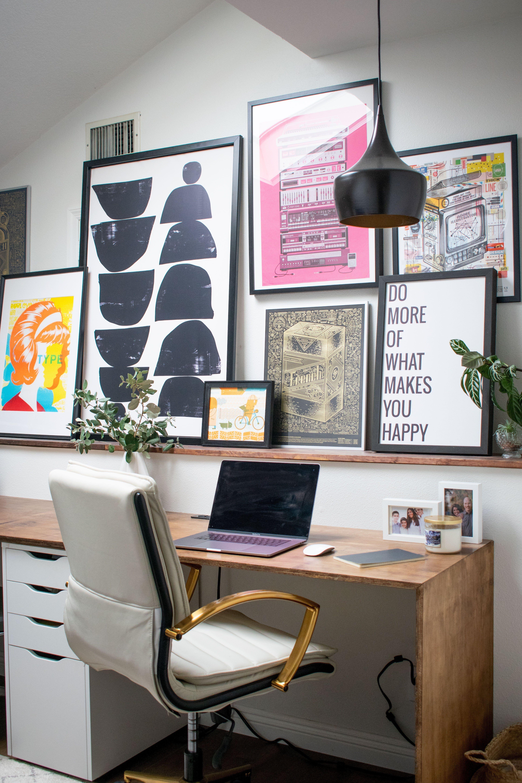 A Home Office Design Built for a Creative   Office room decor ...