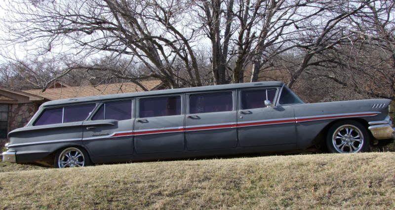 1958 chevrolet airporter wagons pinterest limo. Black Bedroom Furniture Sets. Home Design Ideas