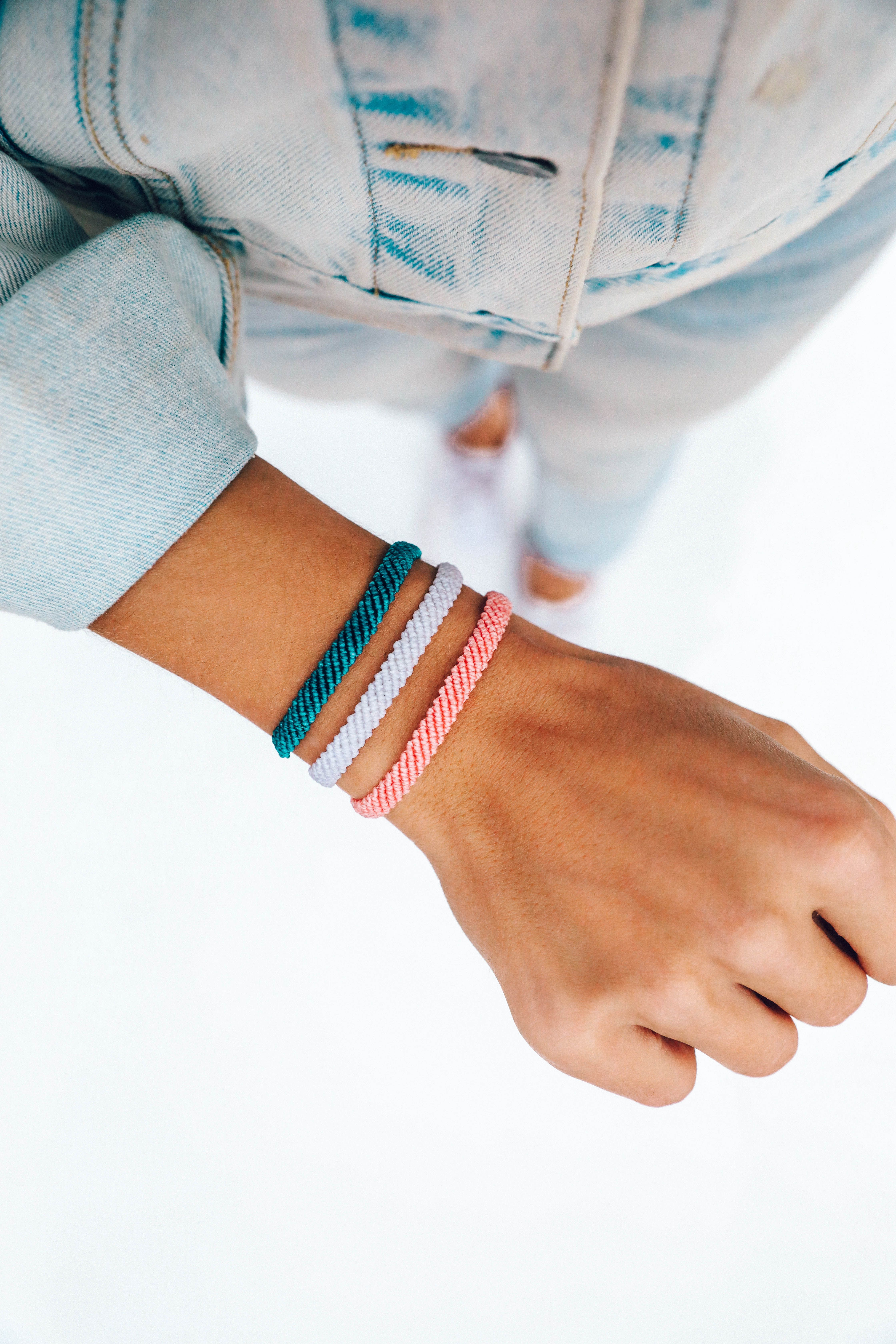 Green Glass Bracelet Adjustable Bracelet BFF Bracelet You/'ve got this Bracelet Every Day Jewelry