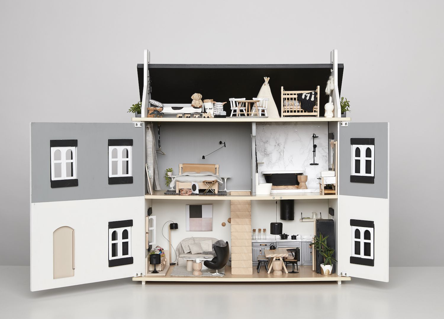 puppenhaus spielzimmer pinterest. Black Bedroom Furniture Sets. Home Design Ideas