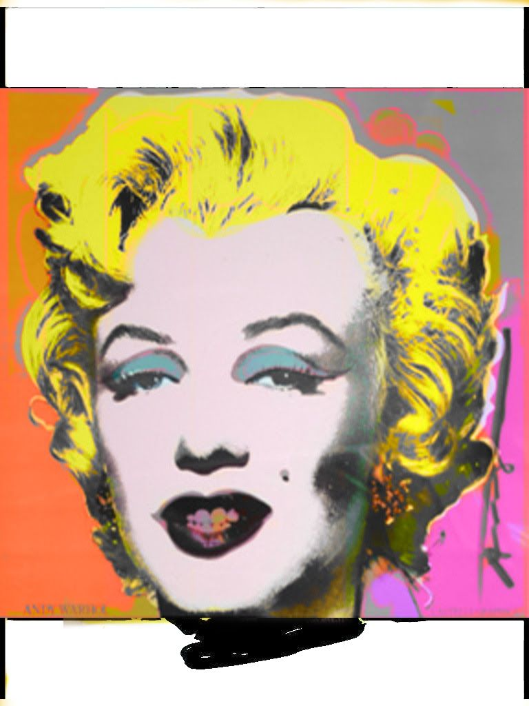 Multiple Marilyn | Andy\'s Marilyn/ Warhol Inspired/Pop Art | Pinterest