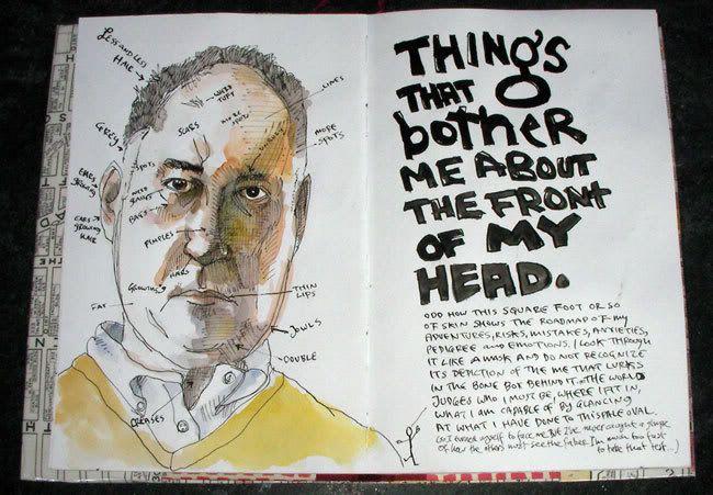 Danny Gregory Sketchbook I Ve Noticed That Danny Gregory Doesn T