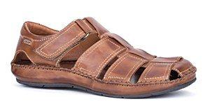 pikolinos mens sandals fuego caged sandal closed toe