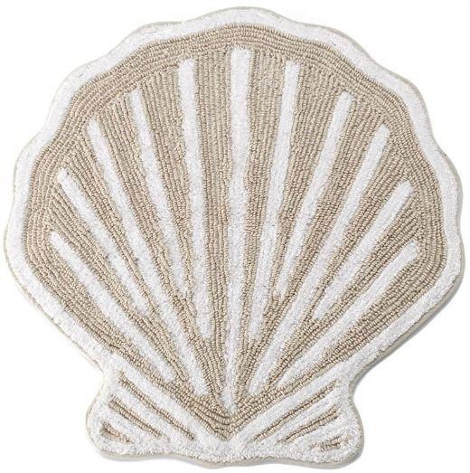 Sea Shell Shaped Bath Rug Http Www Beachblissdesigns