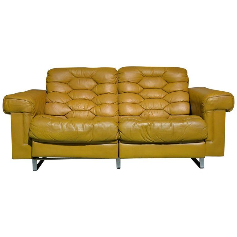 Admirable Vintage De Sede Ds P Reclining Sofa By Robert Haussmann Caraccident5 Cool Chair Designs And Ideas Caraccident5Info