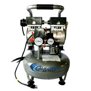 California Air Tools 3 Gal 1 Hp Ultra Quiet And Oil Free Air
