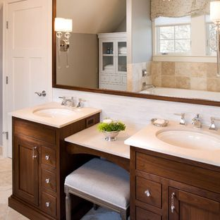 Two Level Vanity Design Ideas, Pictures, Remodel, and Decor - page 2