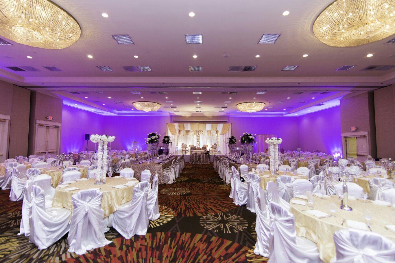 Melange Ballroom Wedding Venues in Houston with beautiful Interiors ...
