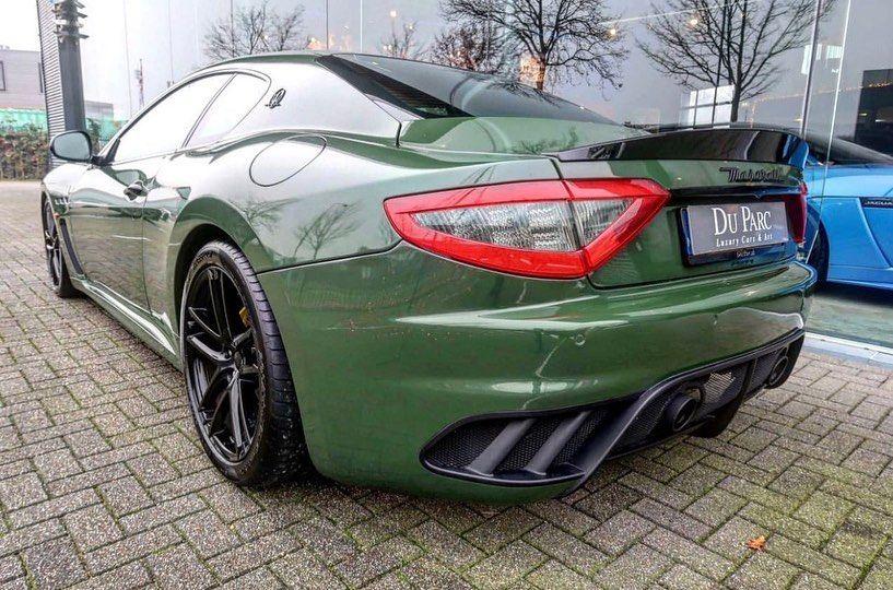 Awesome color on this Maserati GranTurismo MC Stradale