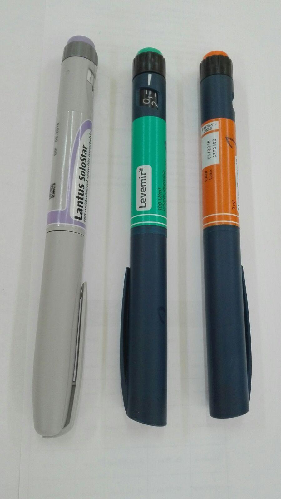 7.f. Bolígrafos de insulina