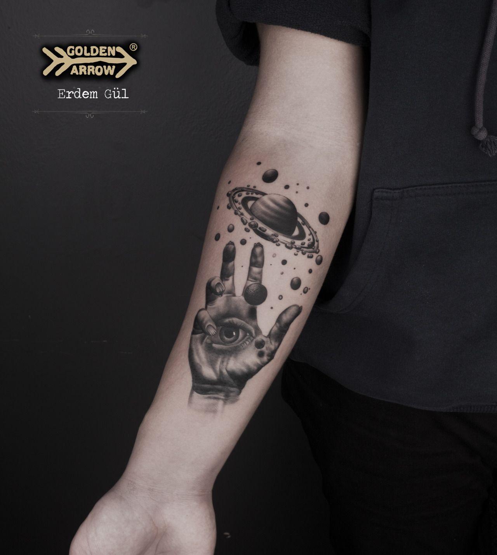 Tattoo Artist: Erdem Gül Golden Arrow Tattoo, İstanbul, Turkey ... - Tattoo Studio Bielefeld