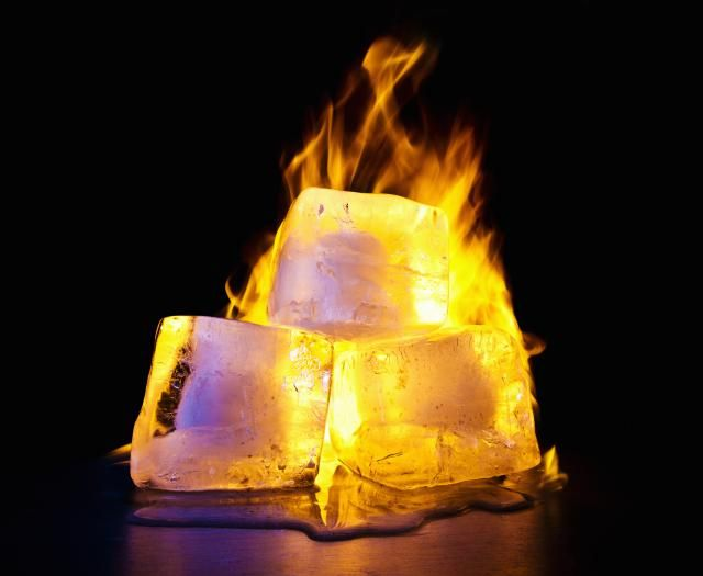 How To Literally Set Ice On Fire Chemical Reactions Natural