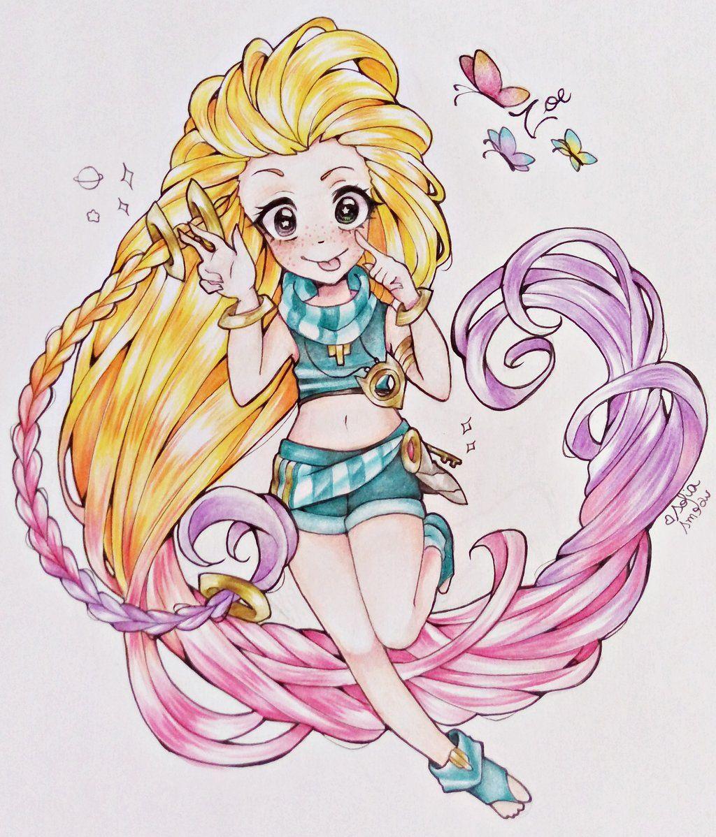Fanart) Zoe - League of legends by ...