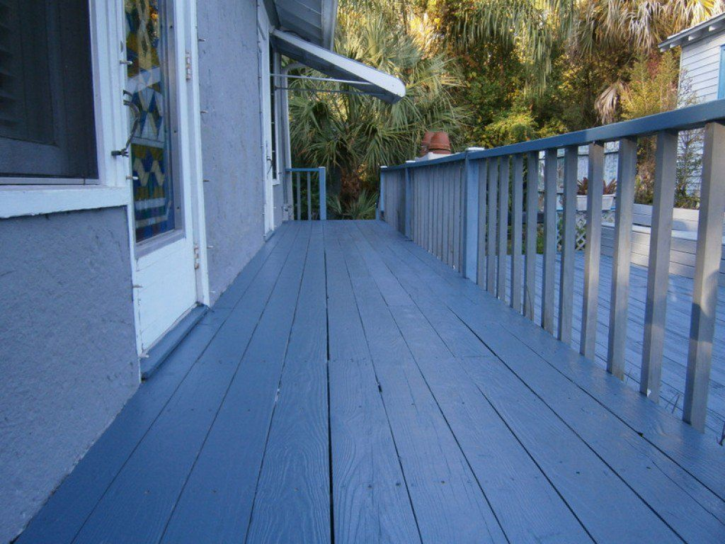 How to refinish and paint an old wooden porch and deck decking the worn wooden porch and deck on my 100 year old house was in need of refinishing and repainting this article describes how i accomplished this do it solutioingenieria Gallery