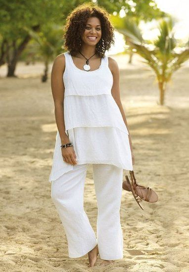 1000  images about White summer dress on Pinterest | Plus size ...
