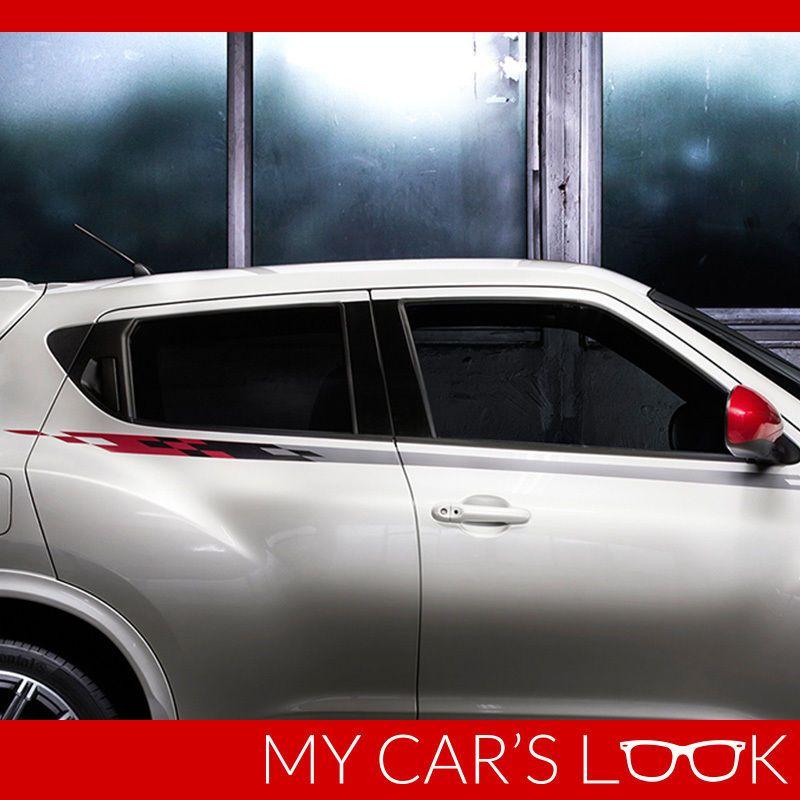 Details About Stripes Decal Kit For Nissan Juke Side