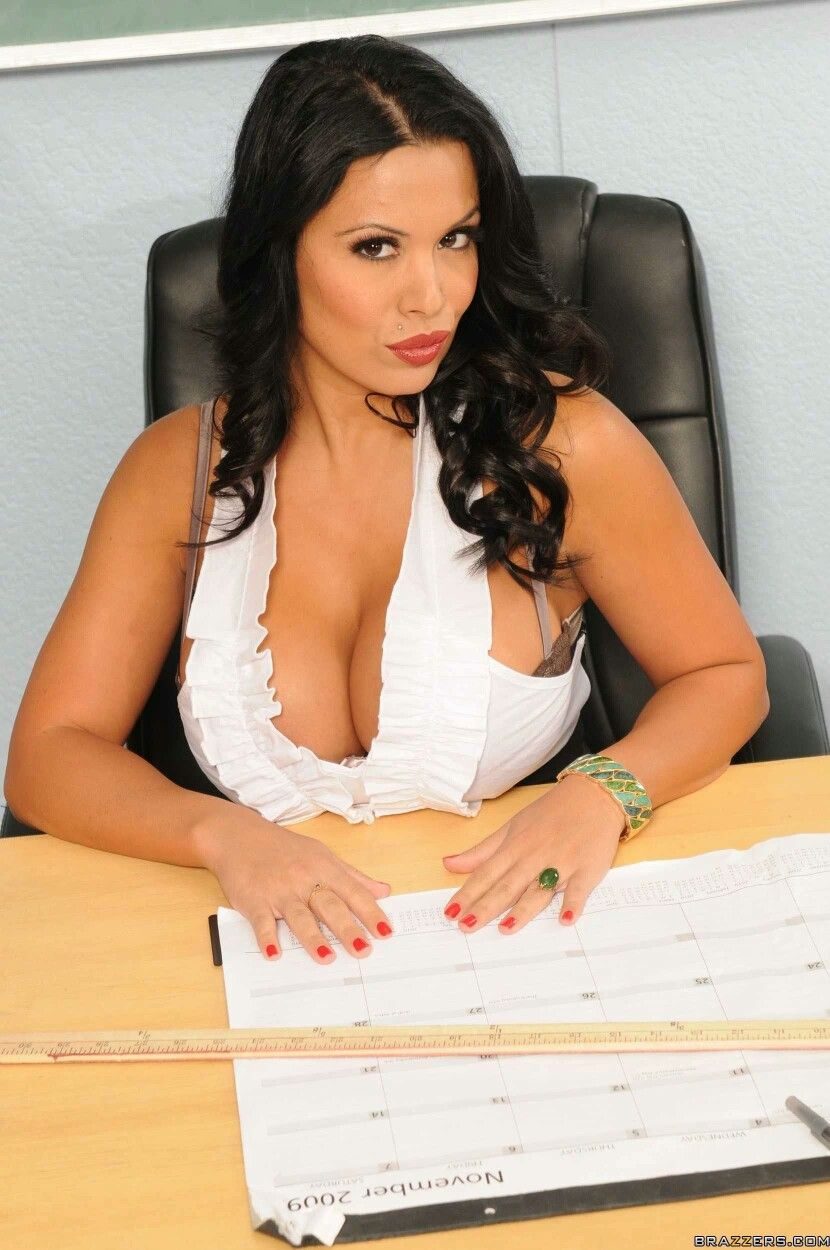 Teacher hot Sienna west