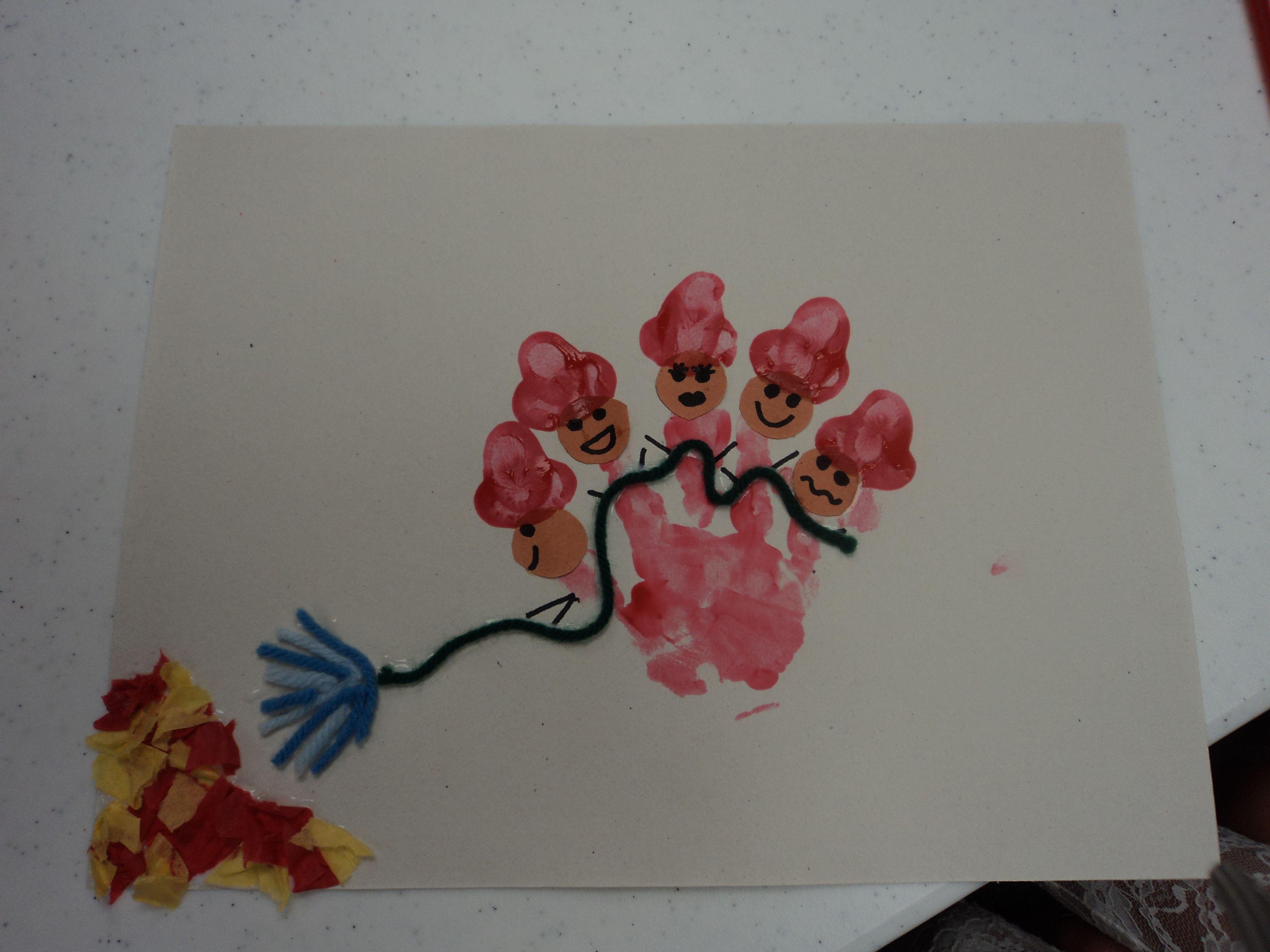Cute Fireman Craft Child 39 S Handprint Makes 5 Little