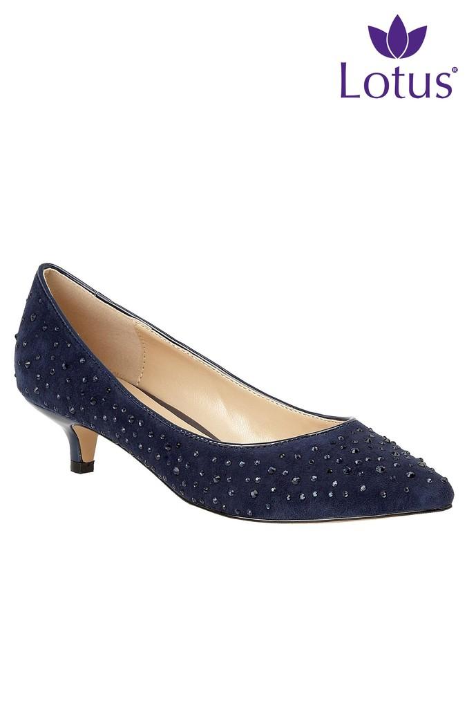 Lotus Kitten Heel Court Shoes Kitten Heels Heels Court Shoes